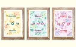 Life, Luck, Love Poster Series