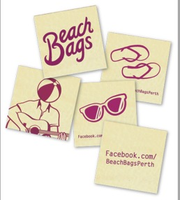 Beach Bags stickers