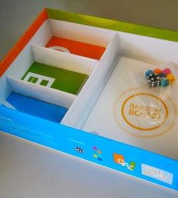 Inside of box design