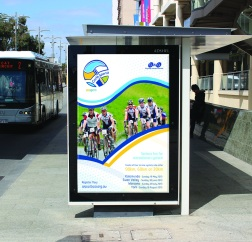 Cyclo Sportif bus shelter poster