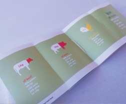 Istd mini insect size hand book middle fold out spread