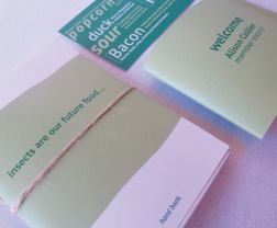 Istd mini insect size hand book with slide over holder and membership card