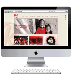 Red Party Website-home