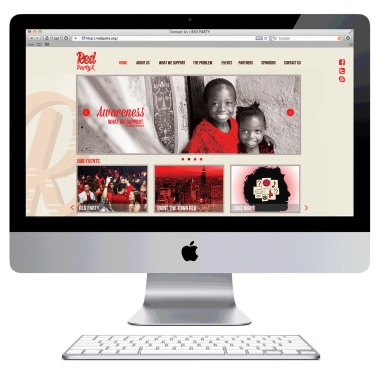 Red Party home page