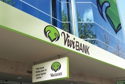 Vivi Bank Building Signage