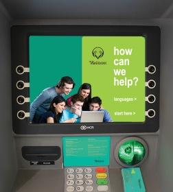 Vivi Bank ATM Screen 1
