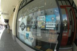 Oday Shop front window.