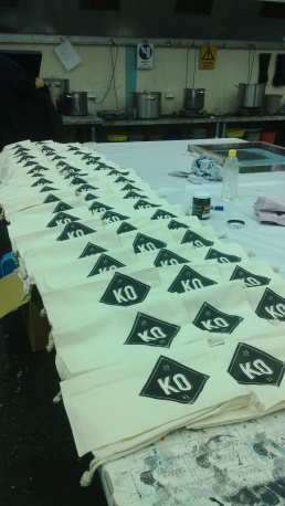 Print Screening exhibition showbags!
