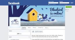 Facebook 'BB is online' Banner