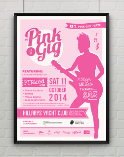 The Pink Gig 2014 Poster