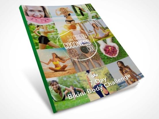 Bikini Body challenge Booklet Cover