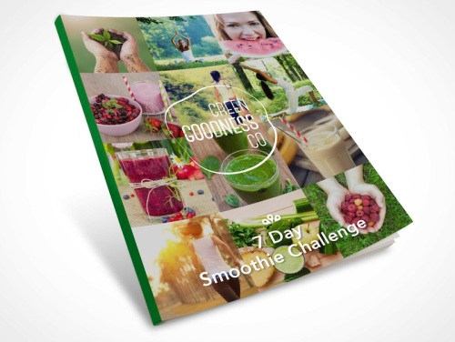 Smoothie challenge Booklet cover