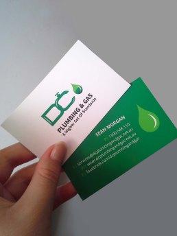 DC Plumbing & Gas Business Cards1