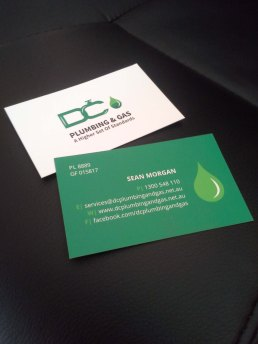 DC Plumbing & Gas Business Cards2