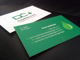 DC Plumbing & Gas Business Cards3