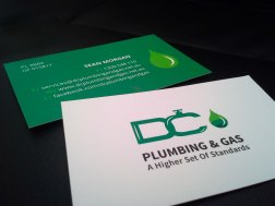 DC Plumbing & Gas Business Cards4