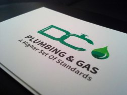 DC Plumbing & Gas Business Cards5