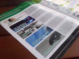 Brochure design inside spread1