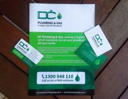 Brochure design, Business Cards and fridge magnet